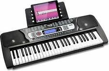 Keyboard RockJam E-Klavier Digital 54 Tasten Musik Instrument Elektronik RJ654