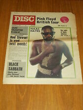 DISC AND MUSIC ECHO DECEMBER 11 1971 PINK FLOYD ISAAC HAYES ROD STEWART