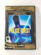 Police Quest Collection (PC, Sierra 2006) Police Quest 1,2,3 And 4 WIN XP