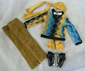 #791 Complete Fun on Ice 1963 Ken Doll outfit VINTAGE BARBIE