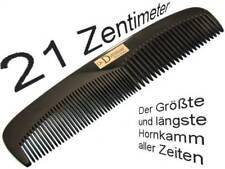 21 cm Large Styling Comb BUFFALO HORN HORN COMB Men's Comb Handmade Dr.Dittmar