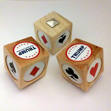 Pinochle/Euchre helps you remember what you named trump TRUMP cubes $20, 4 cubes