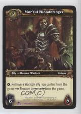 2009 World of Warcraft TCG: Scourgewar #213 Mor'zul Bloodbringer Gaming Card 2ic