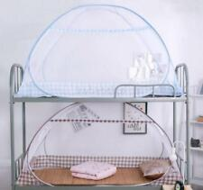 Bed Foldable Mosquito Net Free Standing Canopy White Single Door Easy Pop-Up