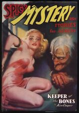 Spicy Mystery - August, 1937 Original Pulp Magazine - NR
