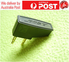 GENUINE BOSE airline adapter for  QC3 QC25 QC20 and AE2 AE2W headphones GST INV