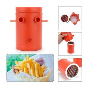 French fries potato slicer chipping machine simple cut vegetable fruit chopper
