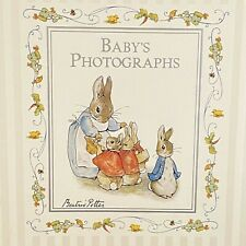 Vtg. Beatrix Potter Peter Rabbit Baby's Photographs Album