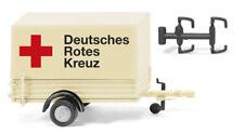 Wiking 086504 - 1/87 Drk - Pkw-Anhänger - Neu