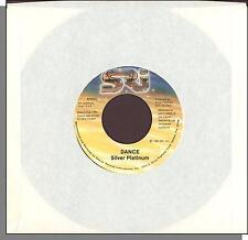 "Silver Platinum - Dance + Hit and Run - 1980 7"" 45 RPM Single!"