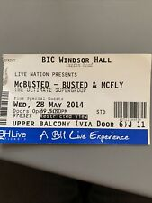 McBusted ticket Bournemouth 2014