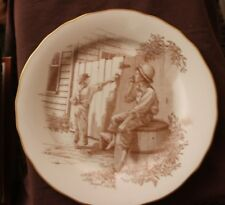 Mark Twain Collectible Plate - Whitewashing the Fence