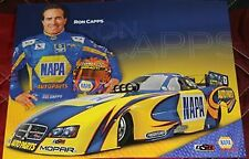 2011 Ron Capps Napa Dodge Charger Funny Car NHRA postcard