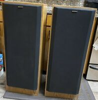 Sony SS-U311 Pair 3 way 4 Speaker System Vintage Tested Working