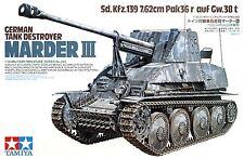 Tamiya 35248 1/35 Scale Model Kit German Tank Destroyer Marder III Sd.Kfz.139