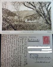 ANTIGUA POSTAL BARCELONA EL TIBIDABO DESDE SAN GINES AÑO 1929 ZERKOWITZ  CC03771