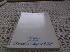 VINTAGE  COOKBOOK  SWEET TALK RECIPES FROM THE DOMINO SUGAR CHEF SPIRAL BOUND