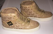 LITTLE GIRLS MICHAEL KORS PRISCILLA TENNIS SHOES SIZE 12 YOUTH NEW NO BOX