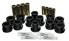 Energy Suspension Control Arm Bushing Set Black Front for 87-92 Supra # 8.3126G
