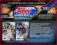 2016 Topps Series 1 Baseball Complete Your Set Pick 25 Cards From List