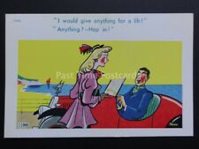 Trow: Motoring Theme I WOULD GIVE ANYTHING FOR A LIFT!...ANYTHING? HOPE IN 11966
