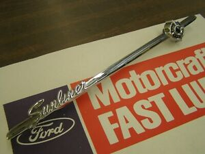 OEM Ford 1960 Sunliner Glove Box Door Emblem Ornament Trim