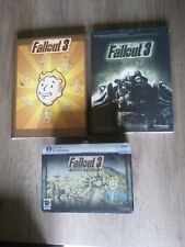 FALLOUT 3 PC NEUF BLISTER + GUIDES FR NEUFS