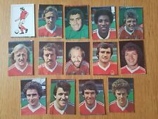 AVA Americana Football Special '79 - Set of 14 Nottingham Forest Stickers - 1979