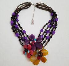 ❀ڿڰۣ❀ BUTLER AND WILSON Statement VALENTINE CLUSTER Necklace ❀ڿڰۣ❀ SALE PRICE