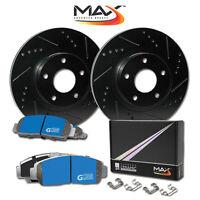 [F] Rotors w/M1 Ceramic Pads Elite Brakes 2002 2003 2004 2005 Suzuki Aerio