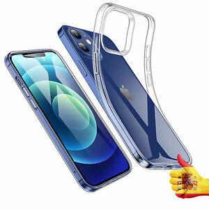 Funda Transparente Compatible iPhone 6,1 Pulgadas 12 12 Pro Carcasa Anti-Choques