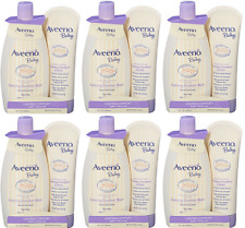 Aveeno Baby Calming Comfort Bath + Lotion Set, Baby Skin Care Products(6 Pack)