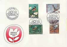 Luxemburg Nr.  1353-56 FDC  Wohlfahrt Bedrohte Vogelarten