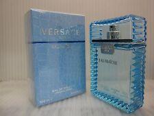 VERSACE MAN EAU FRAICHE 3.4 FL oz / 100 ML EDT Spray Sealed Box