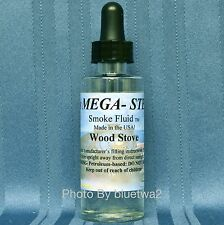 Scented WOOD STOVE Smoke Fluid For Lionel HO G O Steam Diesel Locomotive JTM112