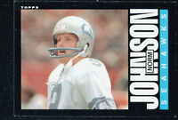 27~~NORM JOHNSON FOOTBALL CARDS~~INCLUDES HIS ~ROOKIE~ CARD!!