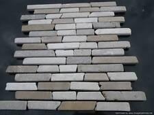 Brickbone MARMO MOSAICO sunet, cappacino, Bianco (CAMPIONE)