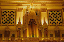 463079 The Worlds Largest Pipe Organ Wannamaker Store A4 Photo Print