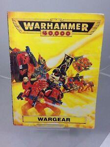 Warhammer 40,000 War Gear 1993 Supplement Book by Games Workshop