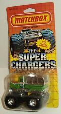 Matchbox SUPER CHARGERS SC15 Peterbilt Monster Truck BIG PETE Green 1987 MOC