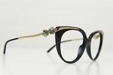 RARE! Bulgari women's sunglasses 8089-K 5195/3C 54-16 135 3N BLACK FRAME ONLY