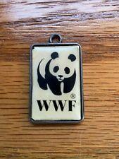 WWF   Pendant Panda 1 5/8 x 1 inch vintage