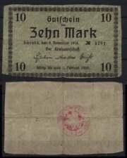 [15252] - NOTGELD SCHRODA (heute: Środa Wielkopolska), Kreis, 10 Mk, 06.11.1918.