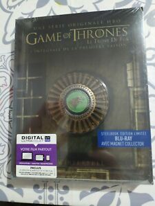 Steelbook edizione limitata game of thrones, stagione 1 blu-ray