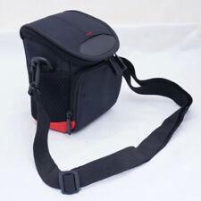 Schwarz Kameratasche Tasche für Canon EOS M100 M10 M6 W/15-45mm Linse Qualität