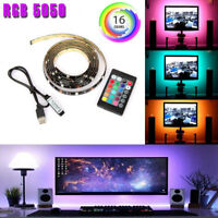 LED TV USB Backlight Kit Computer RGB LED Light Strip TV Background Lights 1M/2M