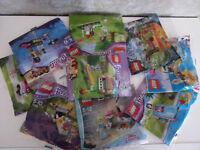 Lego Friends/Elves/Disney Princess Polybag's for Selection - Nip