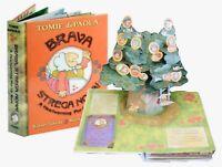 Brava Strega Nona! Pop Up BookTomie dePaola Robert Sabuda Signed 1st Ed New