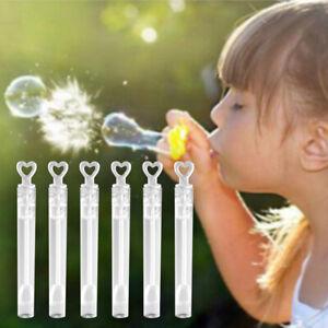 10pcs Bubble Stick Empty Bottle Wedding Birthday Party Supplies Kids Toys 2021