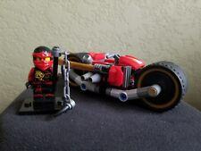 LEGO Ninjago Ninja MiniFigure - Kai (Skybound) With Super Bike From Set 70600